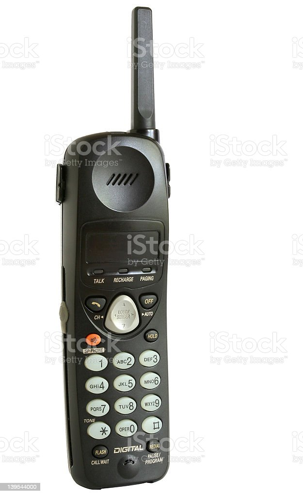 Phone Handset royalty-free stock photo
