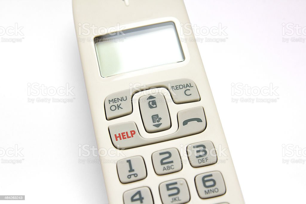 Phone help royalty-free stock photo