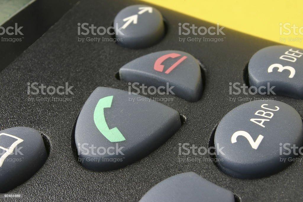 phone keypad #2 stock photo