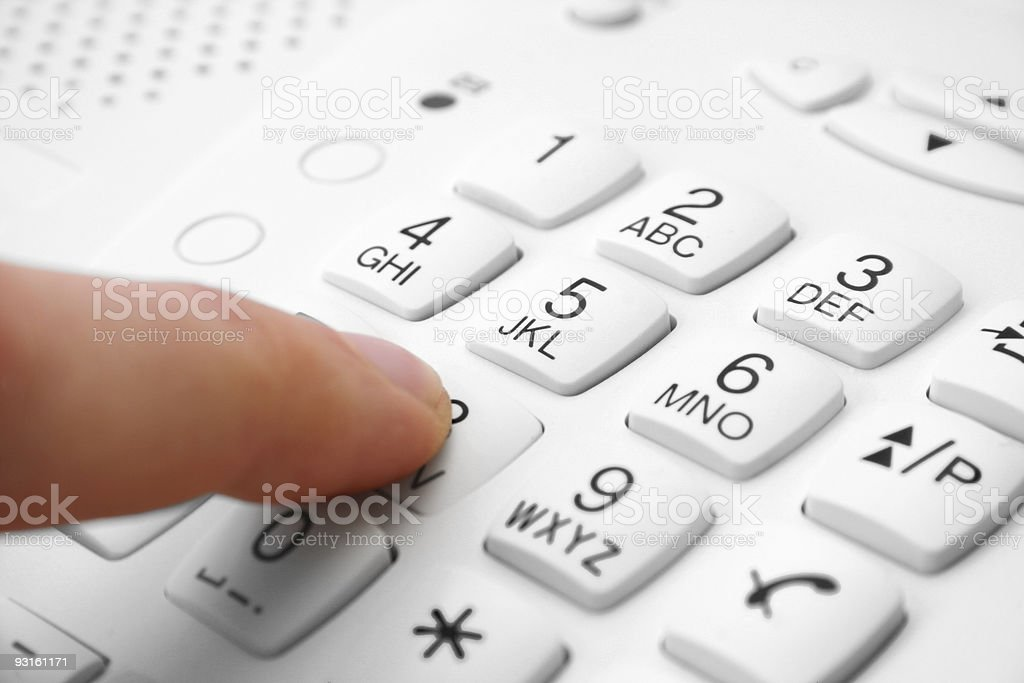 phone keypad - Royalty-free Business Stock Photo