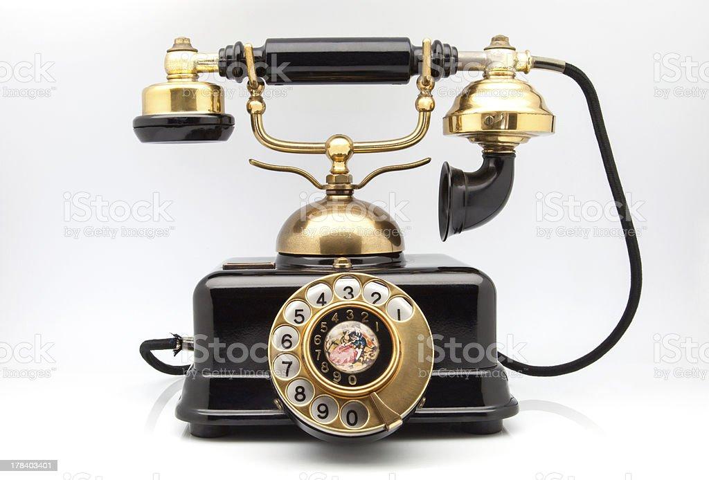 phone retro stock photo