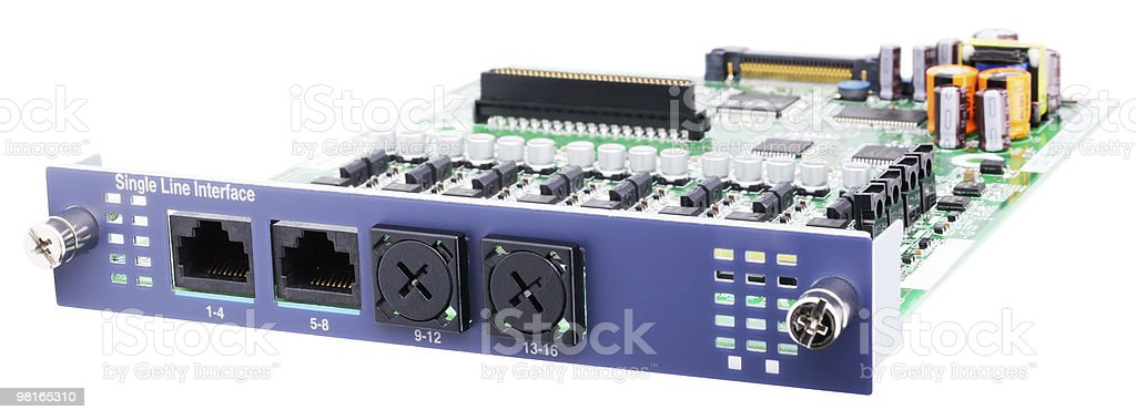 Phone switch circuit board royalty-free stock photo