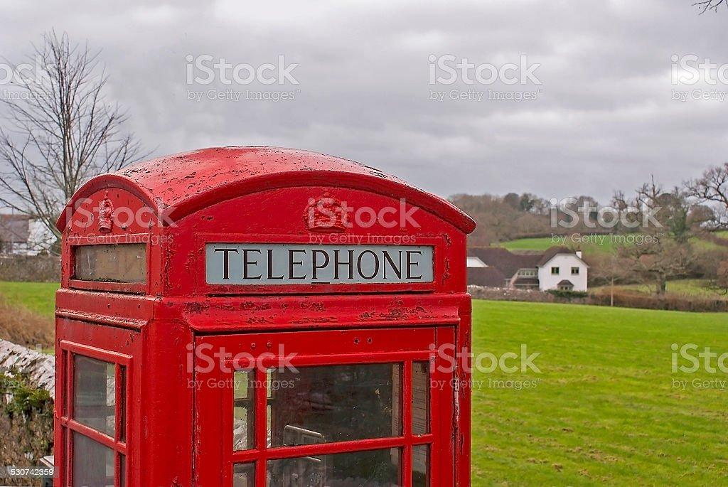 GPO phonebox stock photo
