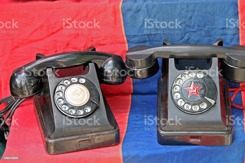 Phones stock photo