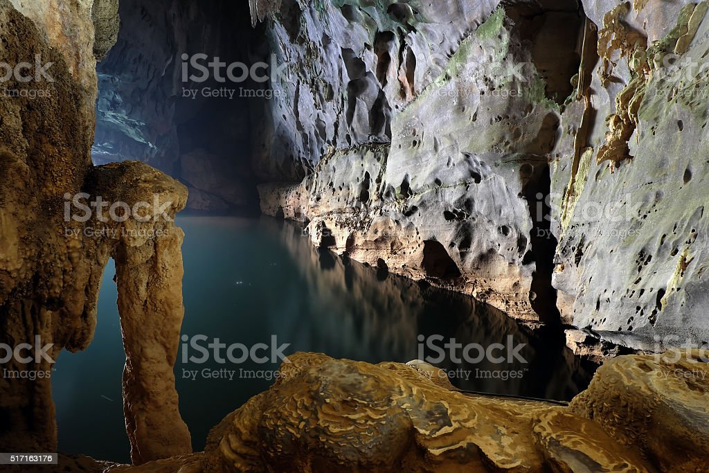 Phong Nha, Ke Bang cave, world heritage, Vietnam stock photo