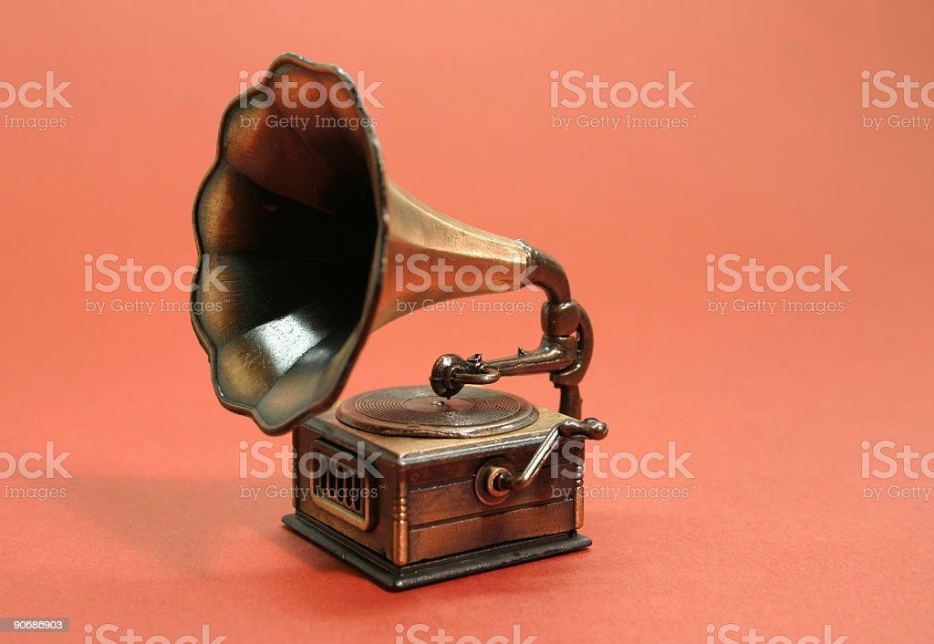 Phonograph, Gramophone stock photo