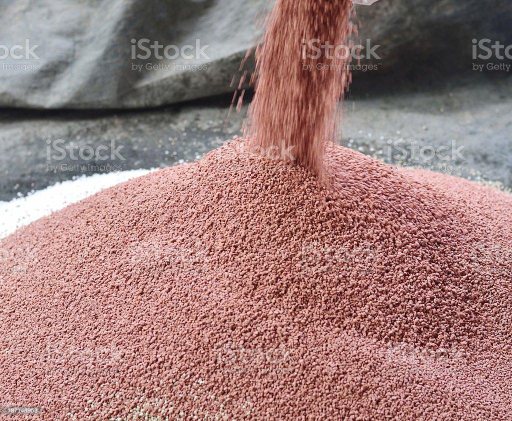 phosphate chemical plant fertilizer stock photo
