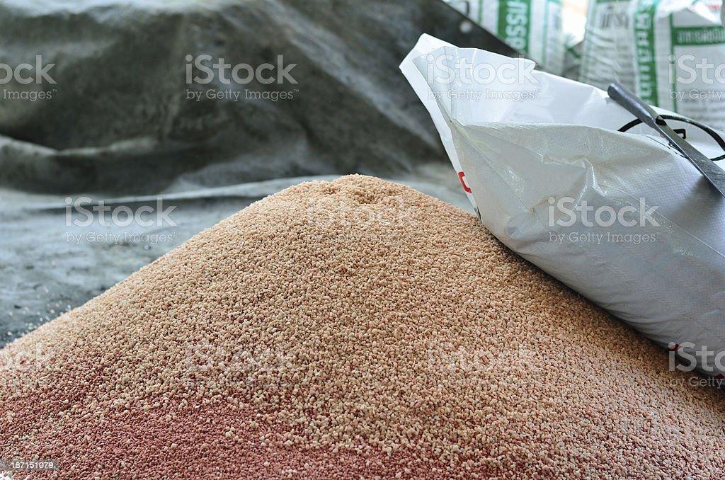 phosphate chemical plant fertilizer royalty-free stock photo