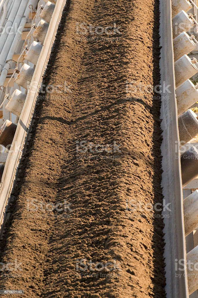 phosphorus mine in california view stock photo