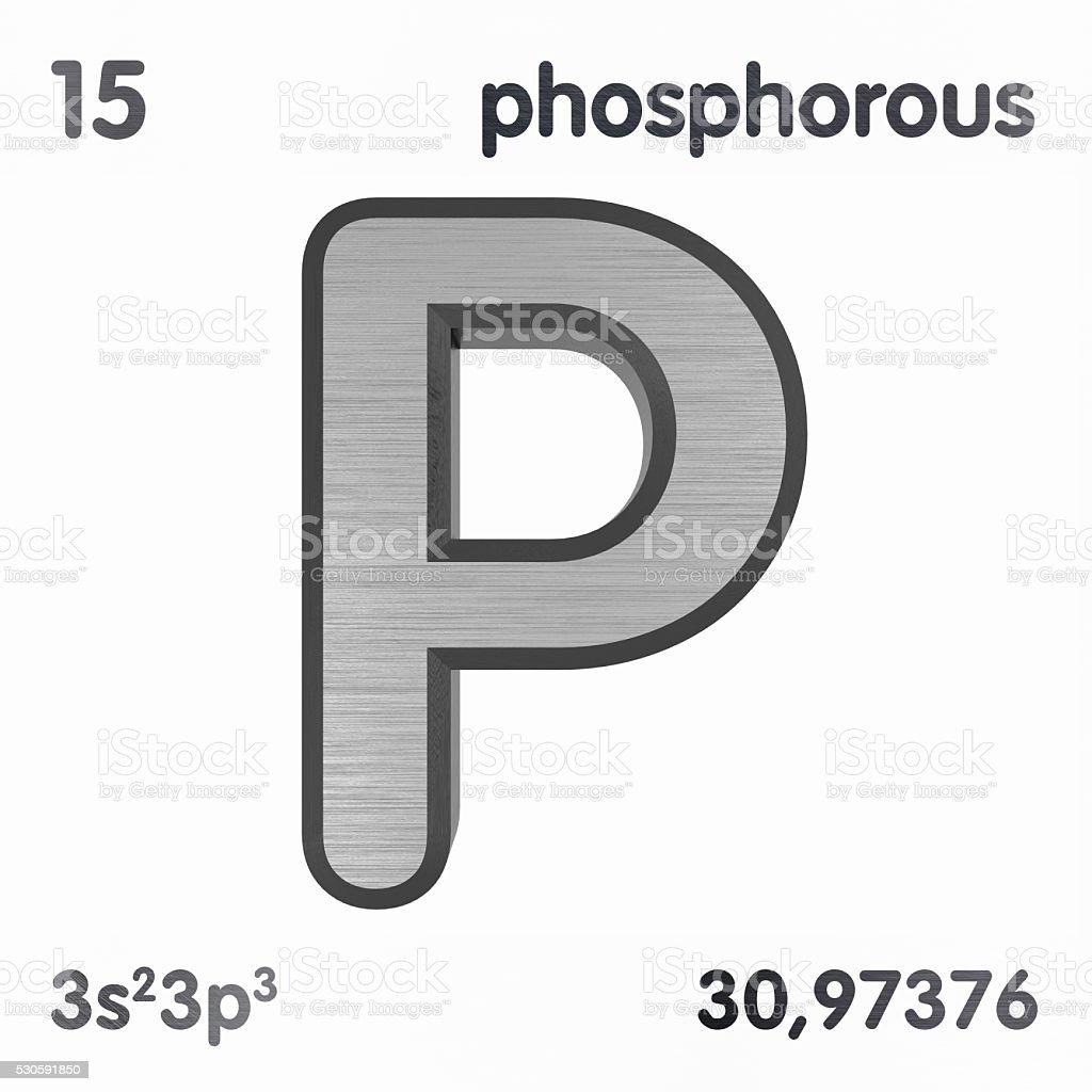 Phosphorus stock photo
