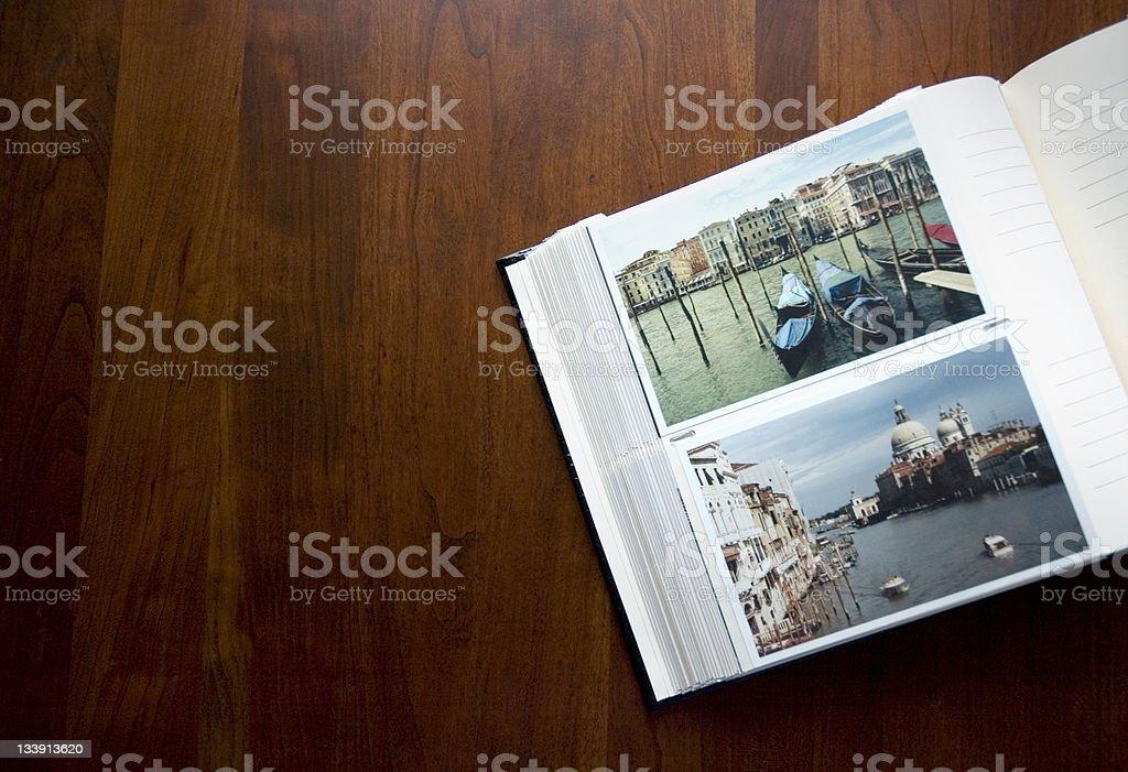 Photo Album on the Coffee Table royalty-free stock photo