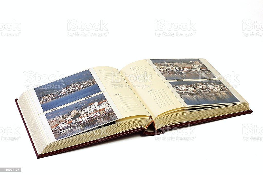 Photo album royalty-free stock photo