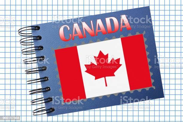 Canada Album Fotografico - Fotografie stock e altre immagini di A quadri