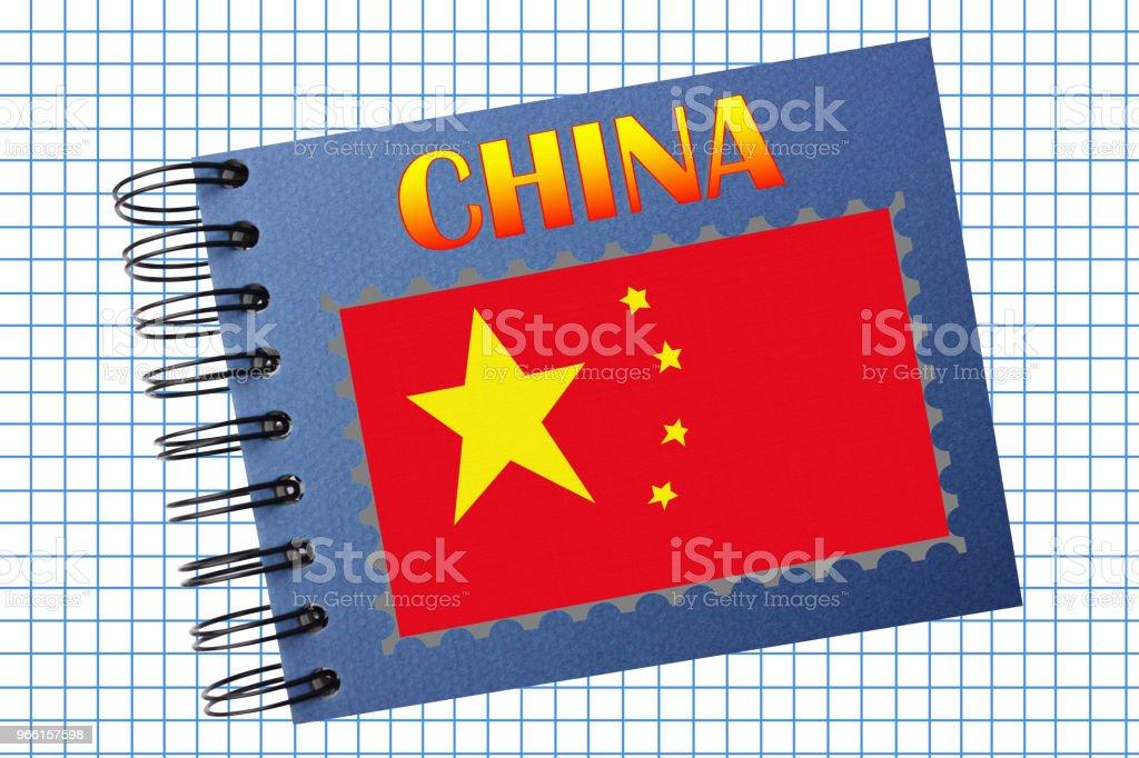 CHINA Photo album - Royalty-free Backgrounds Stock Photo