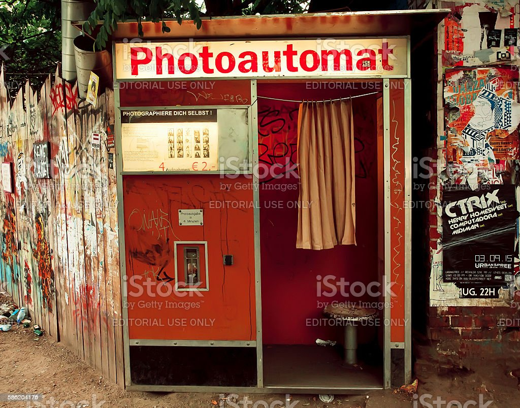 Photo Automat - on the dirty street of Berlin – Foto