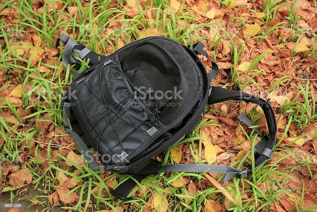 Photo Backpack royalty-free stock photo
