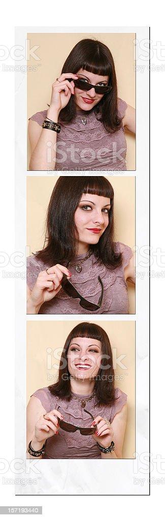 Photo Booth Fun stock photo