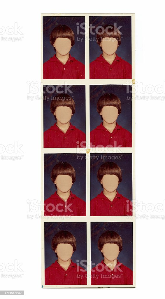 Photo booth Photos royalty-free stock photo