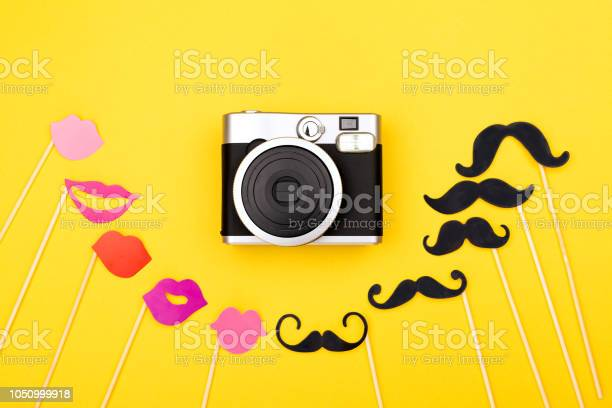 Photo booth props and instant camera picture id1050999918?b=1&k=6&m=1050999918&s=612x612&h=pswkwkgvn8hw3mbd02hfdxearcar dycqbdahdk9jhs=
