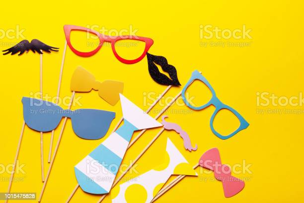 Photo booth props glasses mustache lips on a pink background flat lay picture id1015475828?b=1&k=6&m=1015475828&s=612x612&h=j7hwy5iastswttyayyw9a7byabsotyd btfwww0q8lg=
