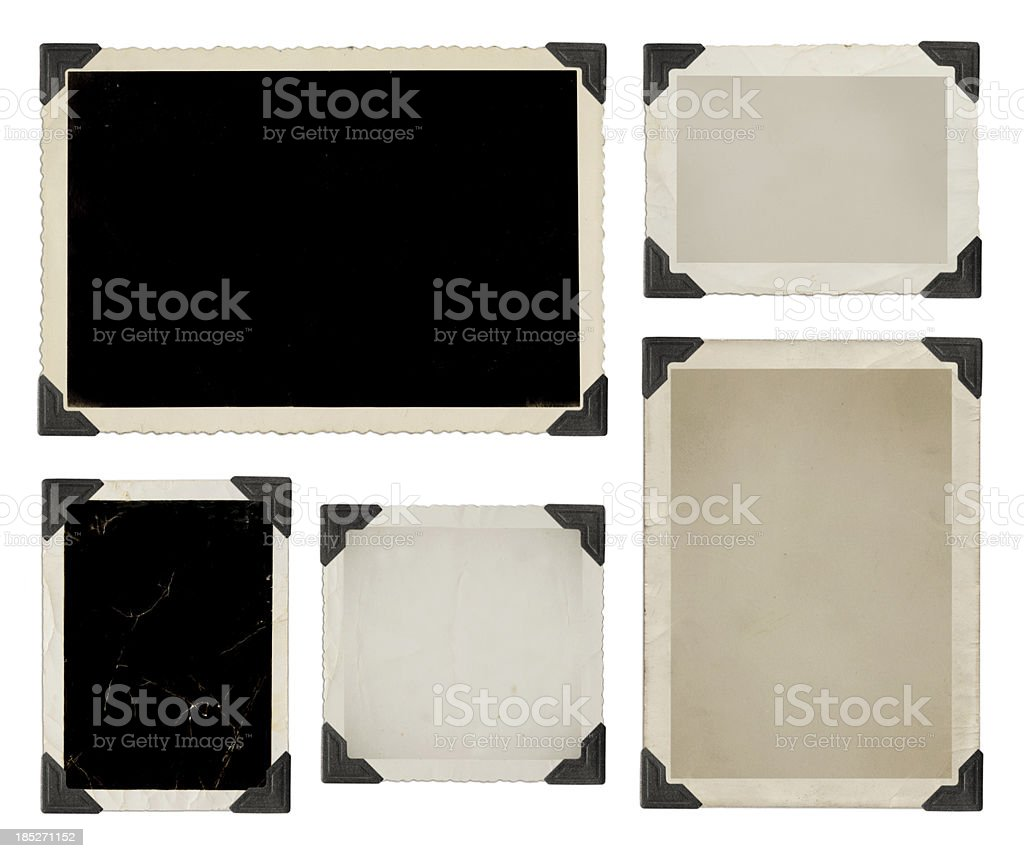 Photo collection XXXL with clipping path stock photo