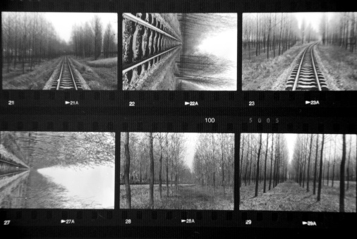 Photo Contact Sheet Stock Photo - Download Image Now