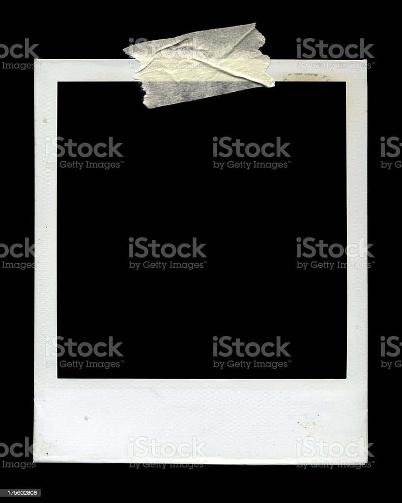 Photo frame on Black royalty-free stock photo