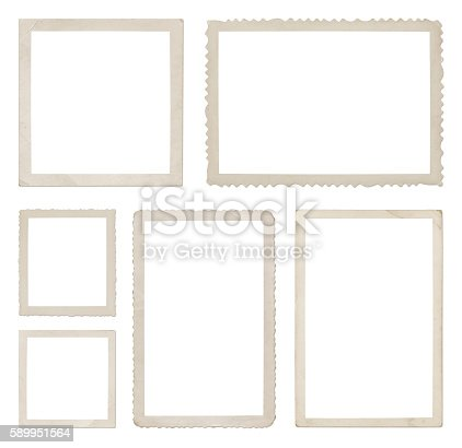 Photo collection isolated on white (excluding the shadows)