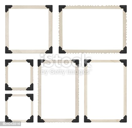 istock Photo Frames Collection 604043516