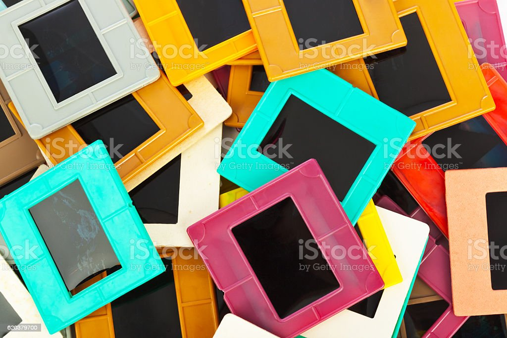 Photo frames for slide background foto de stock royalty-free