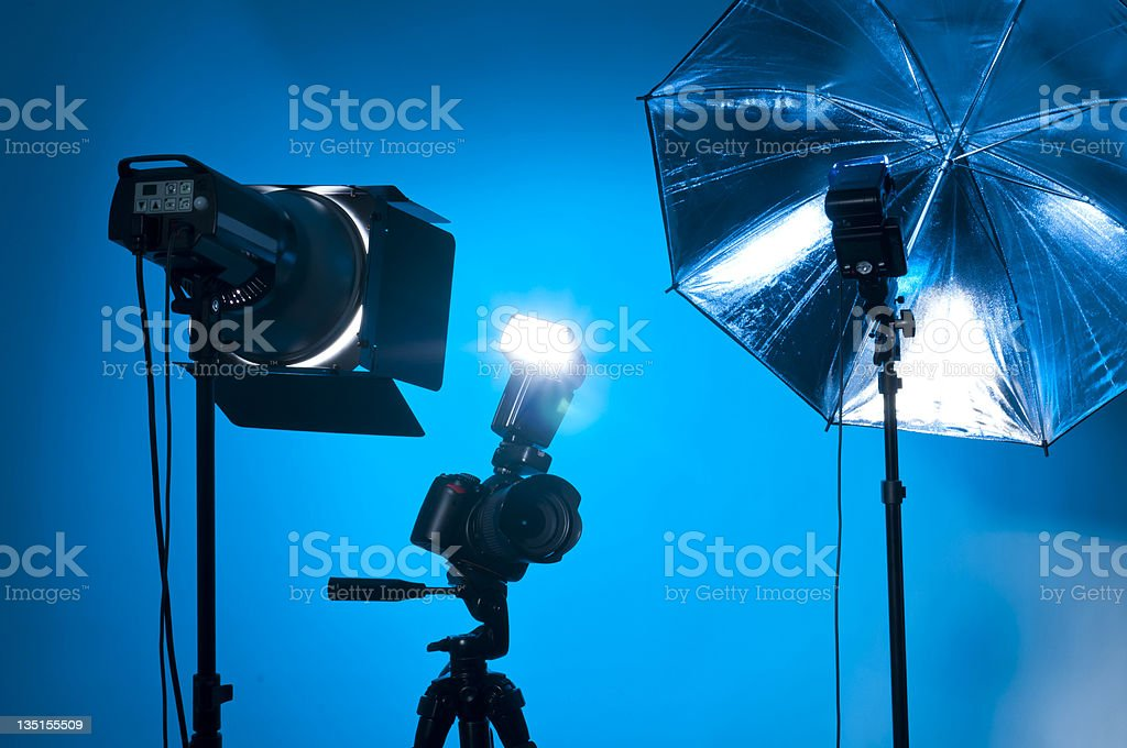 Photo gear stock photo