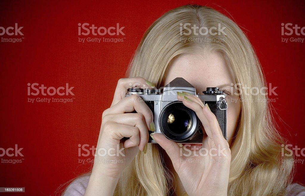 Photo Girl stock photo