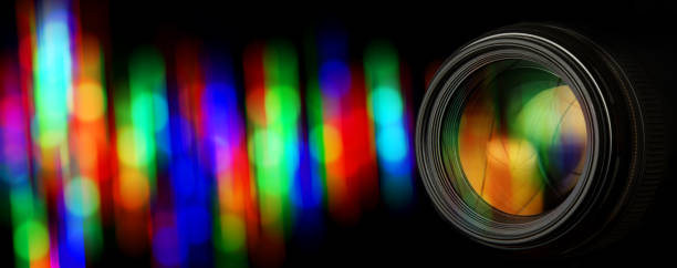 photo lens and background blur 2e - aperture stock pictures, royalty-free photos & images