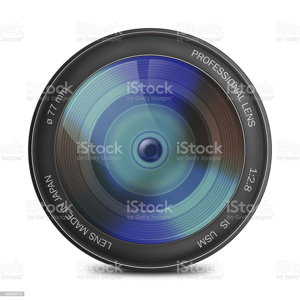 Photo lenses and all things related stock photo