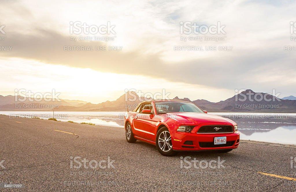 Foto di un aereo Ford Mustang Convertible 2012 Versione - foto stock