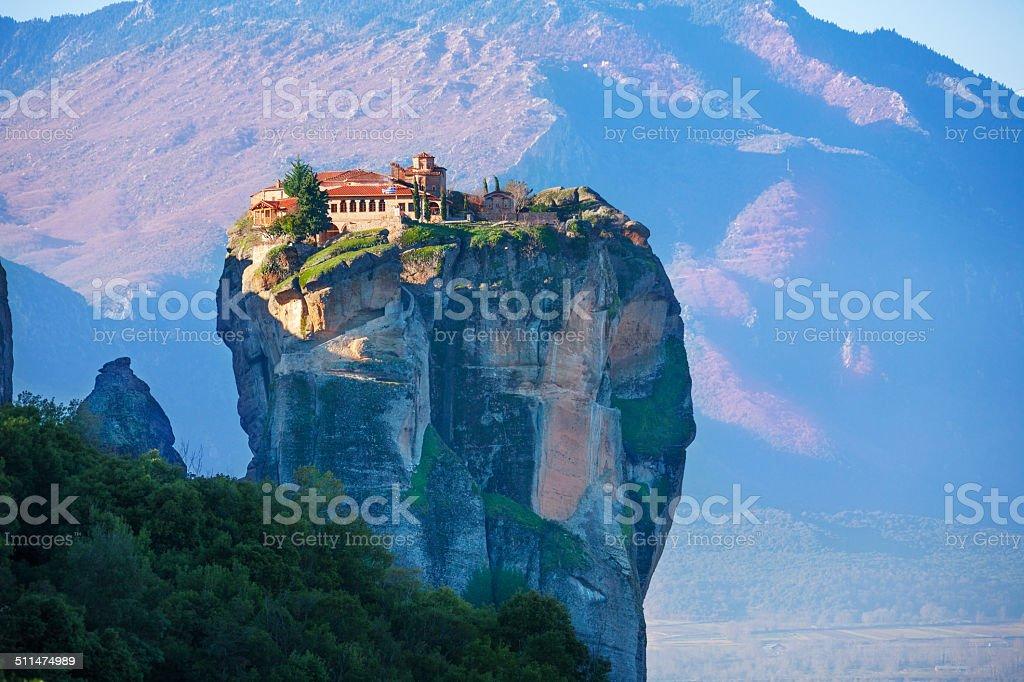 Photo of a Holy Trinity Monastery stock photo