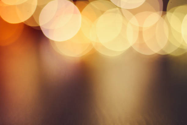 photo of a new year's garland abstract sparks. - soft focus stock photos and pictures