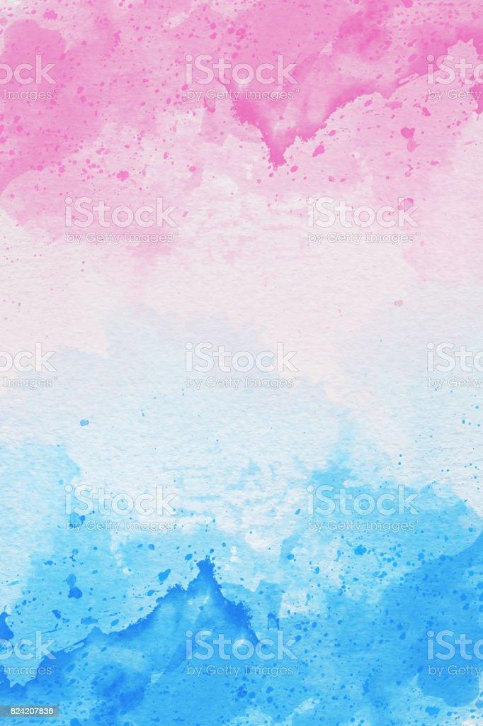 白色背景上的抽象水彩藝術的照片。水彩背景圖像檔