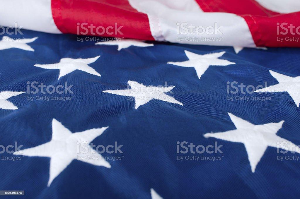 Photo of american flag stock photo