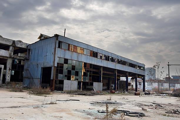 Verlassenen Industriegebäude – Foto