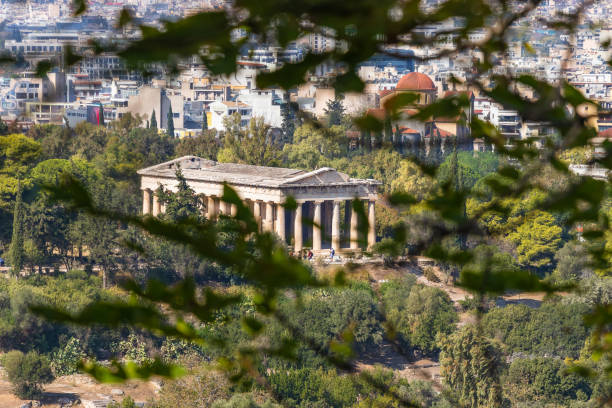 Photo of Ancient Agora of Classical Athens stock photo