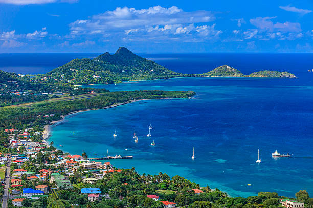 photo of belair, carriacou stretch of beaches - caribbean culture stock pictures, royalty-free photos & images