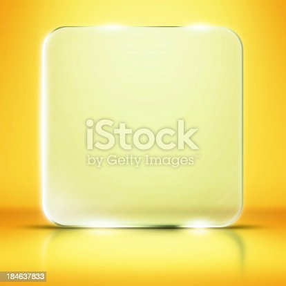 153984410istockphoto Photo of blank glass plate with copy space 184637833
