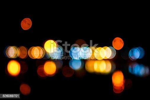 1154996700istockphoto Photo of bokeh lights 526069701