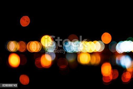 1154996700istockphoto Photo of bokeh lights 526069743