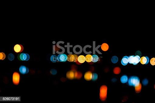 1154996700istockphoto Photo of bokeh lights 526073191
