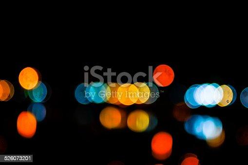 1154996700istockphoto Photo of bokeh lights 526073201
