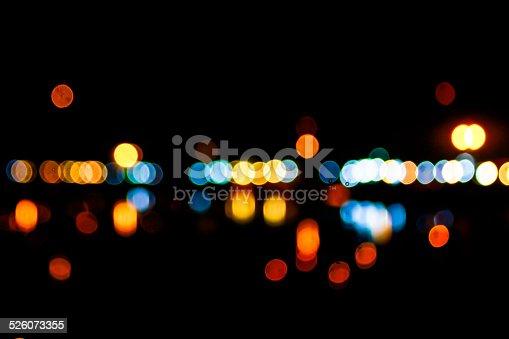 1154996700istockphoto Photo of bokeh lights 526073355