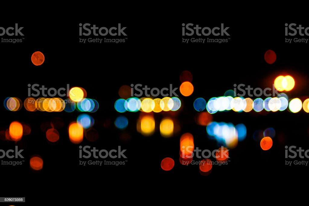 Photo of bokeh lights stock photo