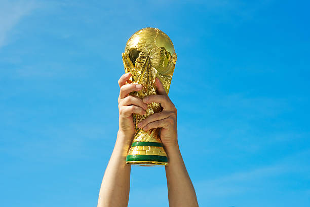 Photo de la Coupe du monde 2014 au Brésil, le trophée de football - Photo